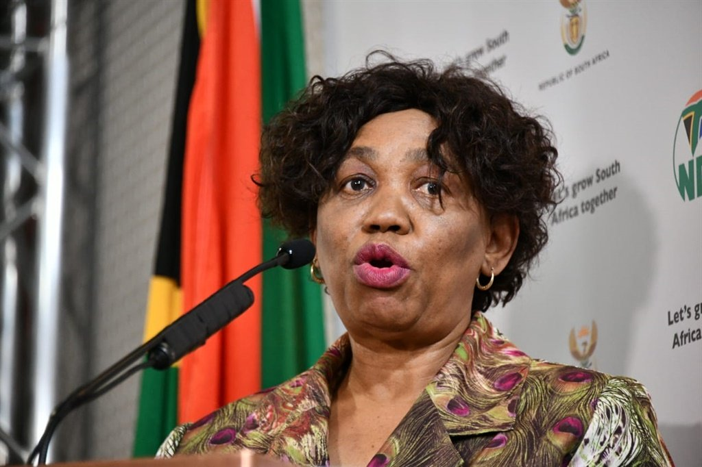 Minister of Basic Education, Angie Motshekga