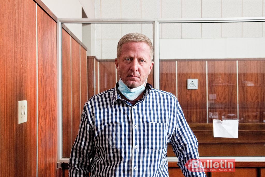Francois Pretorius in court