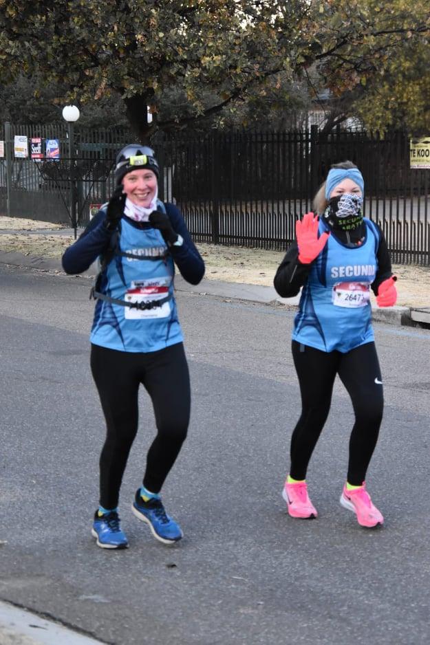 Virtual Comrades runners