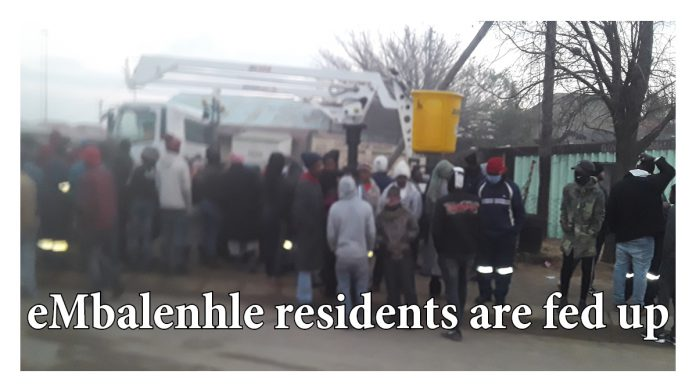 eMbalenhle residents are fed up and 1 GMM employee shocked