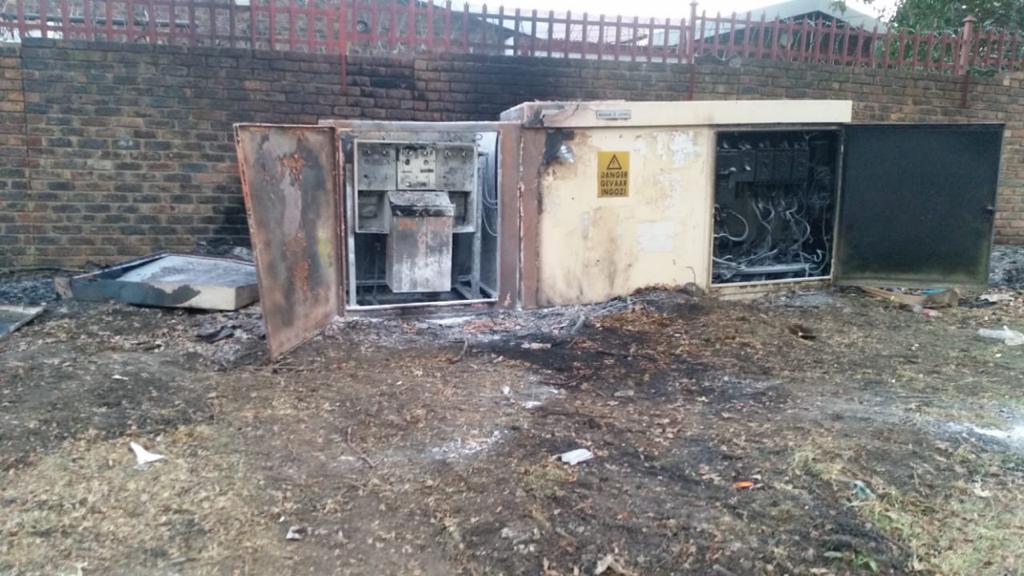 Bethal Transformer Burnt