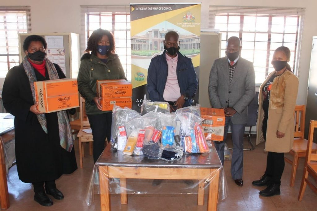 GSDM reaches out to needy leaners during Mandela month