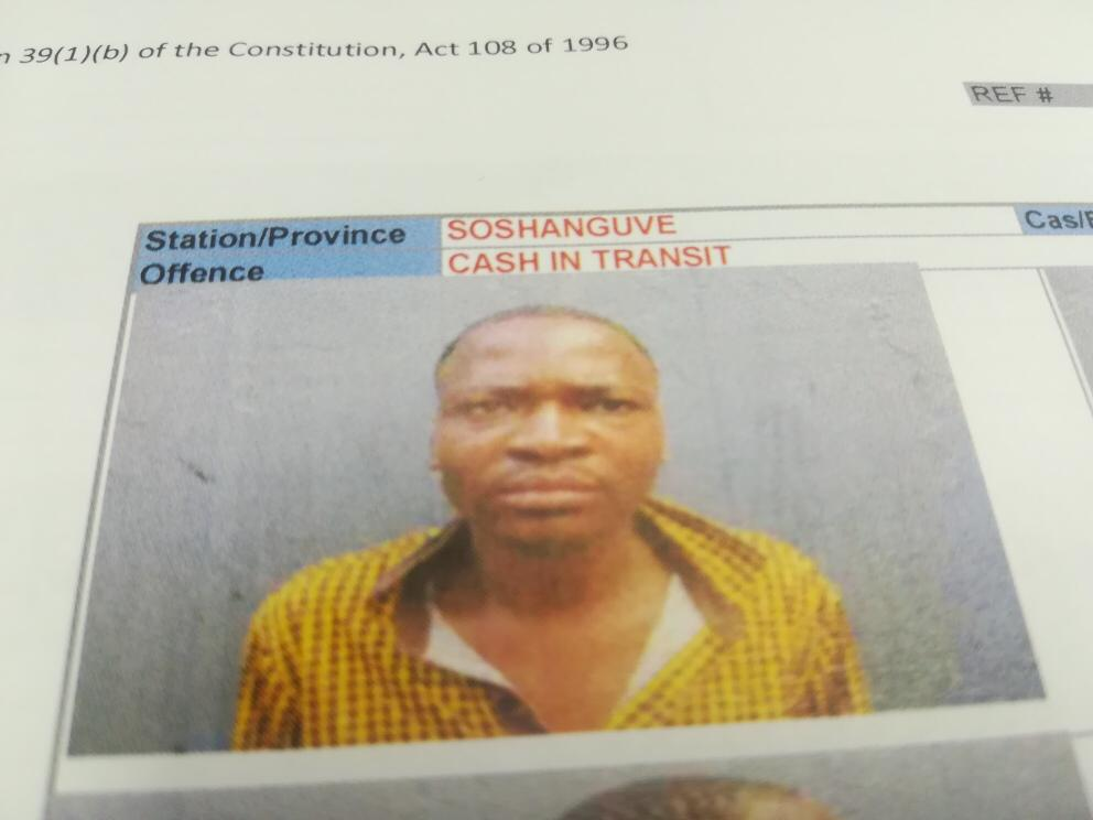 Suspect wanted for cash in transit in Mpumalanga