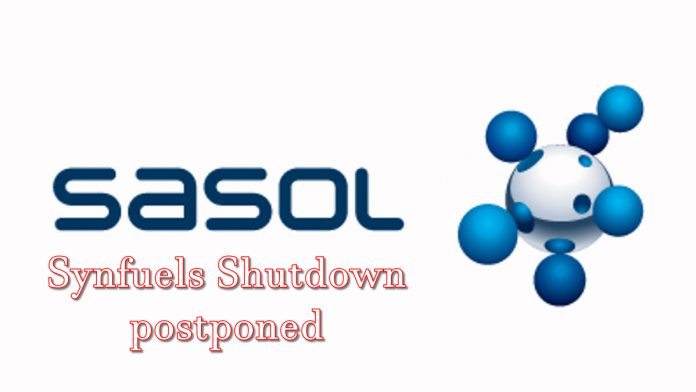 synfuels shutdown postponement