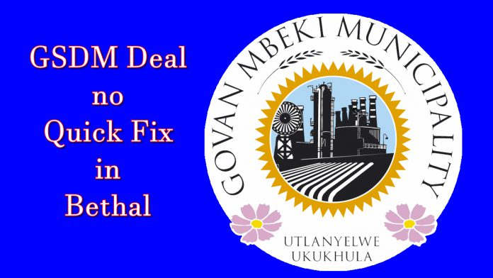 GSDM no quick fix in Bethal