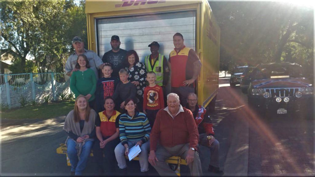 A poignant end of the road for Tanya and DHL Secunda