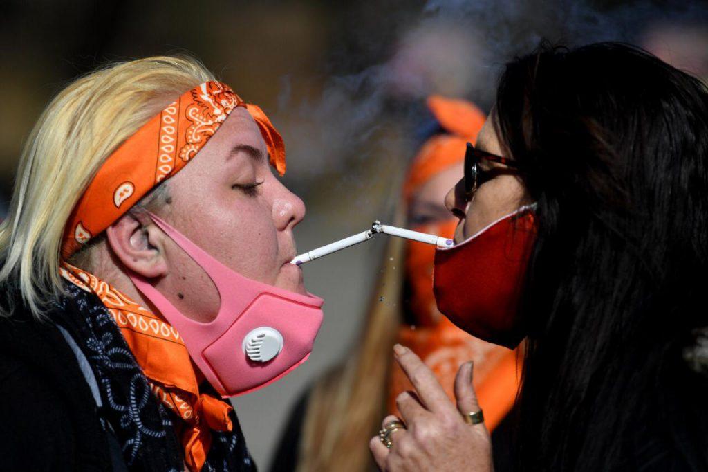 Smokers Unite SA slow drive a hooting success