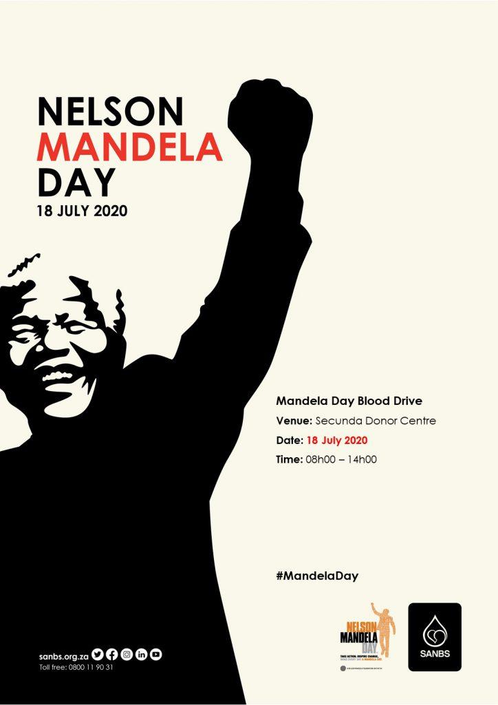 SANBS - Mandela day