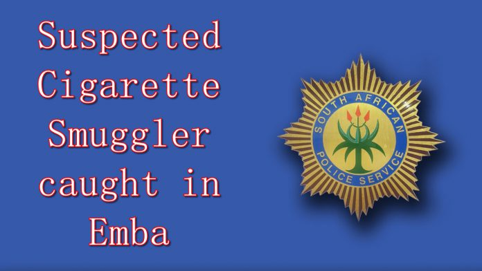 suspected cigarette smuggler caught