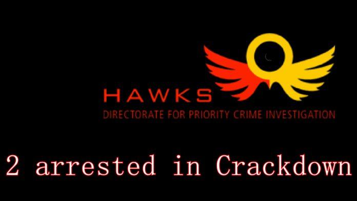 HAWKS arrest in steroid crackdown