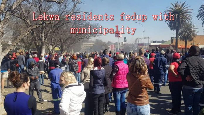 lekwa protests