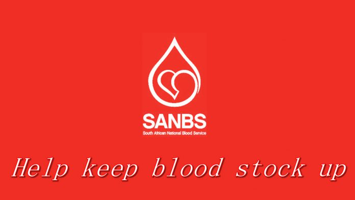 SANBS-help blood stocks