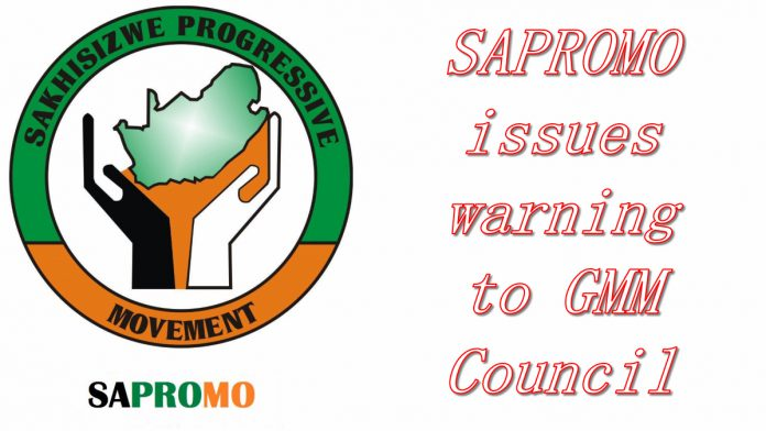 Sapromo issues warning to GMM