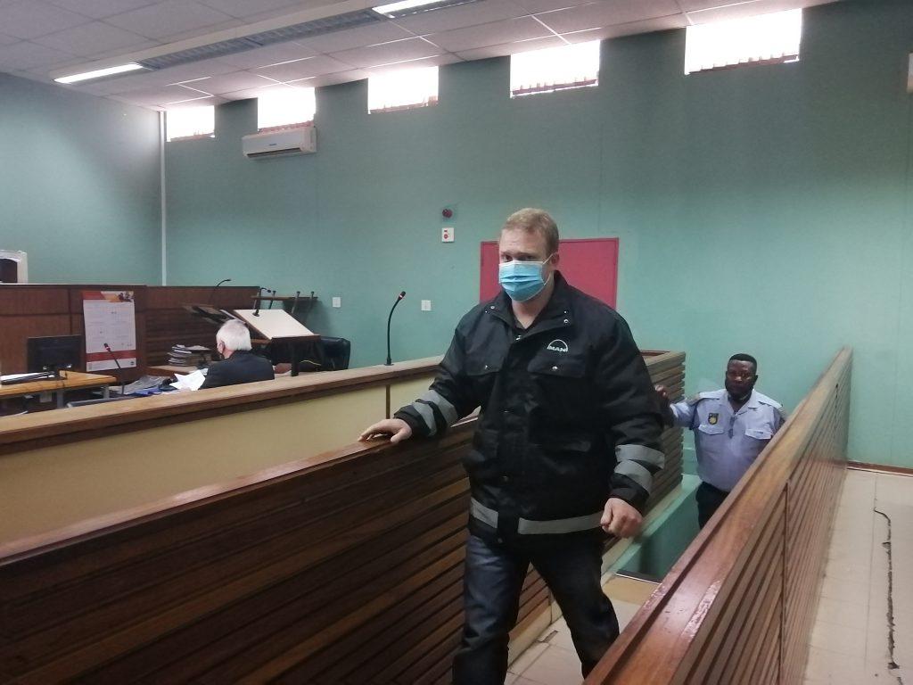 Kosie Kruger word vrygelaat op R 5000.00 borgtog
