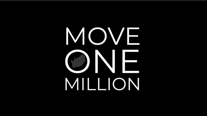 Move One Million demonstration on Saturday, 5 September