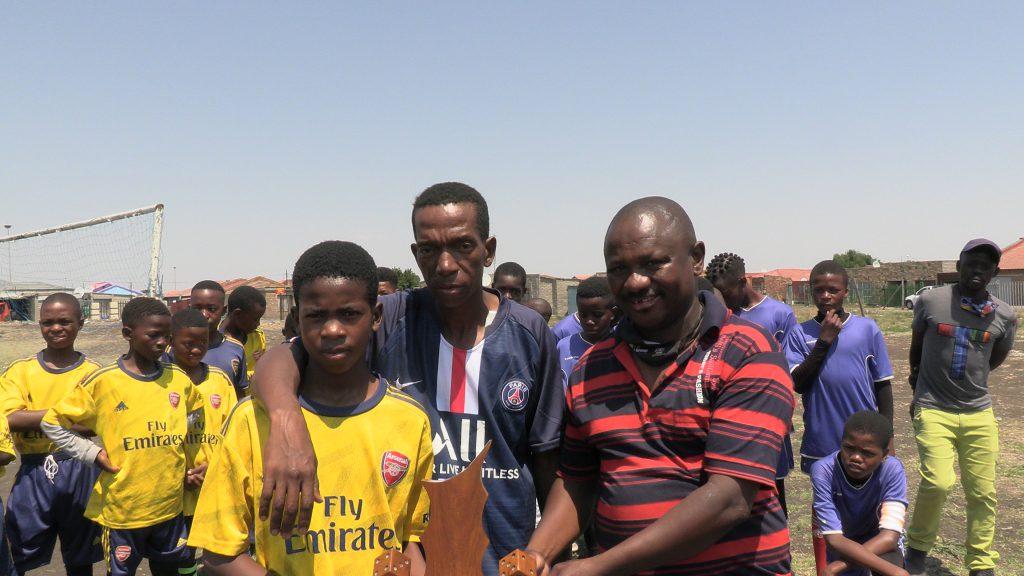 Lake Umuzi soccer honours Moeketsi