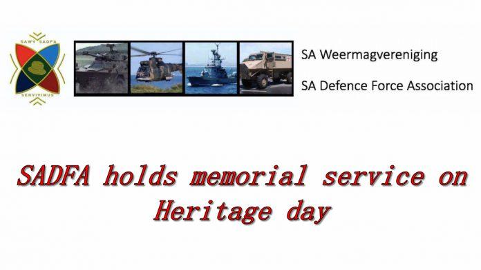 sadfa heritage day