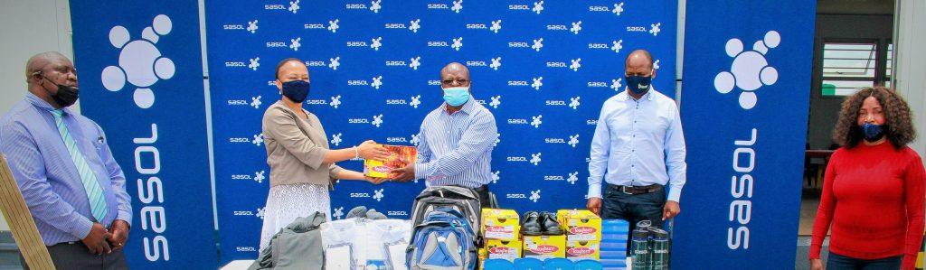 Sasol donates to farm schools