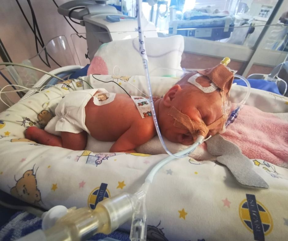 Premature babies will leave parents shocked but stronger
