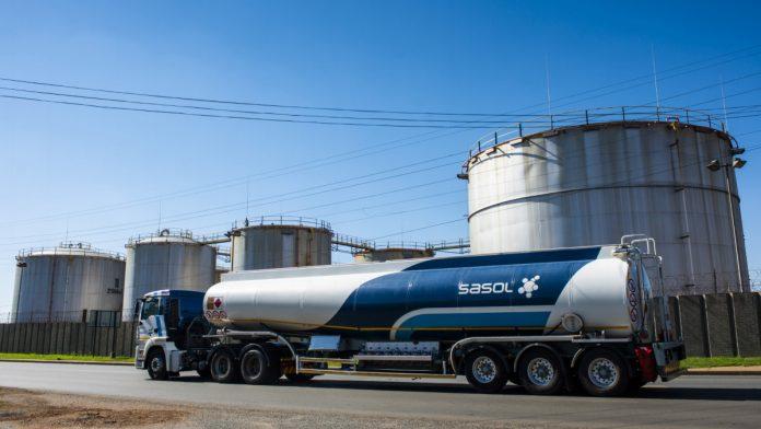 sasol fuel donation