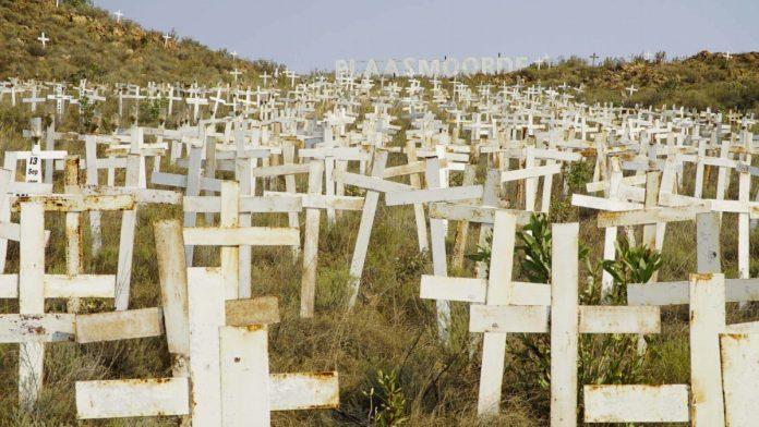 Frantic manhunt for farm murderers