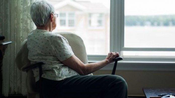 elderly deserted